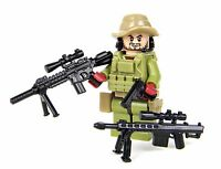 Recon Sniper Special Forces Recon Marine (SKU43) made with real LEGO® minifigure