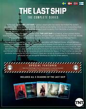 The Last Ship The Complete Series 1-5 Blu Ray Box 11-Disc [Nordic Import]