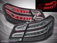 10-13 Mercedes Benz E Class W212 E350 E300 E250 E63 Smoke Sedan LED Tail Lights
