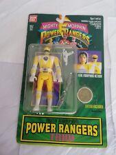 1994 bandai Mighty Morphin Power Rangers Auto Morphin trini yellow Ranger NEW