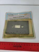 Vintage Realistic Cassette Tape Repair Kit - Salvage Used Tapes Audio Audiophile