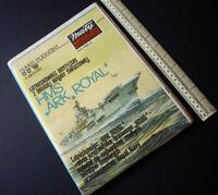 1990 Vintage Maly Modelarz Poland. Royal Navy Aircraft Carrier HMS Ark Royal