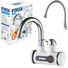 Digital Instant Durchlauferhitzer Elektrisch Wasserhahn Waschtischarmatur 3000W
