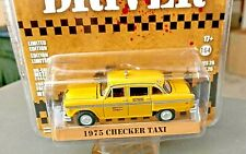 GREENLIGHT 1975 CHECKER TAXICAB TAXI DRIVER HOLLYWOOD SERIES 26 1:64
