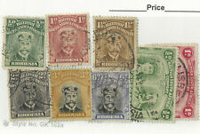 RARE BRITISH SOUTH AFRICA COMPANY RHODESIA STAMP LOT SHORT SET