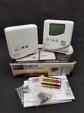 EPH Controls Curve Combi Pack 1 Wireless Room Thermostat & Receiver