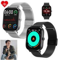 Damen Herren Smartwatch EKG Pulsuhr Blutdruck Monitor für Huawei LG Motorola E G
