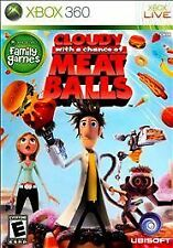 Cloudy With a Chance of Meatballs RE-SEALED Microsoft Xbox 360 GAME