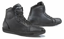 Forma Slam Dry CE approved Black leather motorcycle boots Size EU44