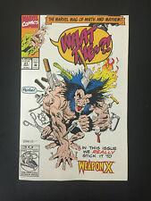 Box 58b, Comic Marvel, What The, # 21 Sept P/B VGC