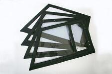Kübel Steckfenster Satz 4 Stck. NEU Schwarz VW 181 Einsteckfenster Fenster