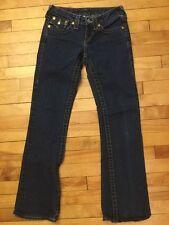 "True Religion ""Becky"" Dark Wash Boot Cut Jeans; Size 24"