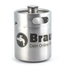 Bierfass Edelstahl TO GO Mini Keg