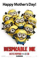DESPICABLE ME Movie POSTER 11x17 E Julie Andrews Ken Jeong Jason Segel Steve