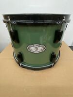 "Pearl Vision VX Rack Tom 12X9"" #84 Olive Green Black Hardware VX825SP/B"