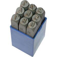 Punzoni numerici in acciaio da 8 mm Sicutool Art. 3028 8 durezza HRC 58-61