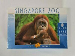 New - Vintage 1990's Orangutans Singapore Zoo Jigsaw Puzzle 500 Pieces