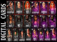 Topps SLAM WWE SCARE TACTICS 21 SERIES 2 [ SET 20 CARDS BLACK BASE/PURPLE BASE ]
