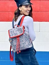 Nwt! Disney Parks Harveys Mickey and Minnie Mouse Americana Backpack Made In Usa