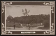 Hartshill near Atherstone & Nuneaton. The Windmill # 544 by F.W.Scarratt.