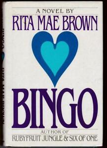 Bingo by Rita Mae Brown (1988, Hardcover) Dogs Cats Horses & Skunks Humorous