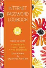 Internet Password Logbook - Botanical Edition: Keep track of: usernames,...
