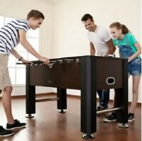 Foosball Table Men 56 Inch Soccer Balls Game Room Arcade Indoor Sport Furniture