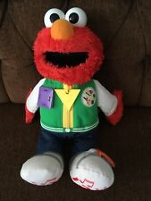 "Sesame Street Elmo Ready for School 14"" - Pre-Owned"
