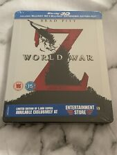 World War Z Steelbook (3D/2D) Blu-ray
