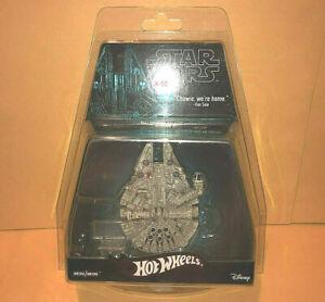 MILLENNIUM FALCON Hot Wheels Exclusive STAR WARS Han Solo diecast ship 5000 toy