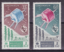 NEW HEBRIDES (Fr) - 1965 - I.T.U. Centenary. Complete set, 2v. Mint NH