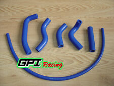 FOR Kawasaki KX500 KX 500 1989-2004 90 91 92 93 Silicone Radiator Hose BLUE