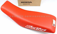 New Genuine Honda Main Seat Striking Red 99-06 TRX400 EX Fourtrax OEM #X44