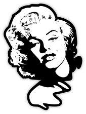 Marilyn Monroe etichetta sticker 9cm x 12cm