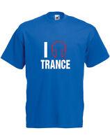 I Love Trance, Trance Music inspired Men's Printed T-Shirt
