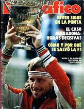 BJORN BORG Tennis Champion Wimbledon 1980 Magazine Argentina