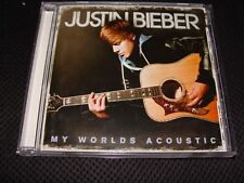 Justin Bieber My Worlds Acoustic CD