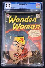 Wonder Woman #88 CGC 2.0  2/57 2083298021 - Irv Novick cover; H.G. Peter art