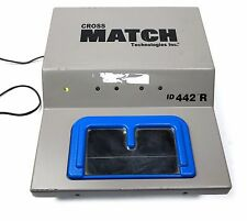 Cross Match Tech ID442R Finger-print Live Scan System Forensic. US Gov Issued
