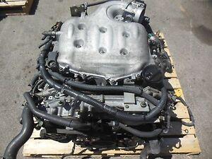 JDM 2003-2006 Nissan 350Z Infiniti G35 Engine VQ35DE Motor Auto Transmission