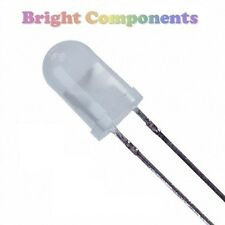 20 x Warm White LED 5mm - Diffused - 1st CLASS POST