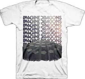 IMAGINE DRAGONS- REPEAT Official T Shirt Mens Licensed Merch US Import Bravado