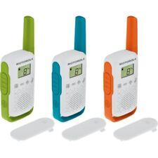 Motorola T42 Triple Talkabout PMR-Funkgerät 16 PMR-Kanäle bis 4 km Reichweite