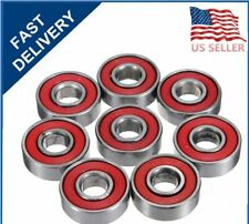 Wholesale Lot 100 Pcs Abec 9 Skate Bearings - 608-2Rs 8mm x 22mm x7mm