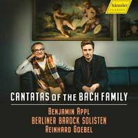 Appl,Benjamin - Cantatas of the Bach Family CD NEU OVP VÖ 19.06.2020