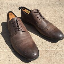 ALDO Brown Wingtip Oxford Dress Shoes US Size 10