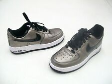 new product b9acb f0a79 Nike Air Force One 1  07 Womens Ladies Shoes Metallic ...