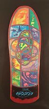 "Mint Vintage Cool 1989 Christian Hosoi ""Irie Eye"" NOS Skateboard Deck W/ Sticker"