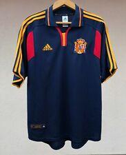 SPAIN NATIONAL TEAM 2000 AWAY FOOTBALL SOCCER SHIRT JERSEY CAMISETA ADIDAS RARE