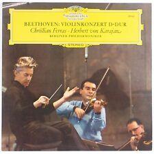 BEETHOVEN: Violin Concert DGG139 021 Ferras Karajan NEAR MINT Italy LP